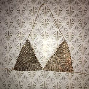 Other - Gold chain bralet